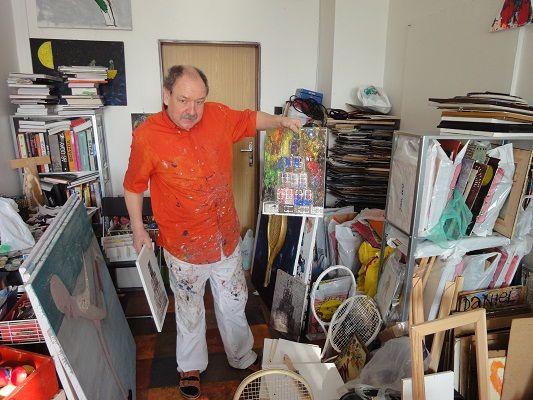 Výtvarník Daniel Hevier