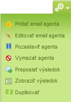 Nastavenie emailového agenta na Brigada.sk